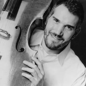 Evan Drachman, cellist and Audrey Vardanega, pianist, perform at 2 p.m., Oct. 13, at Trinity United Methodist Church.