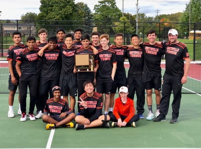 The Northville boys tennis team won the KLAA title over the weekend.