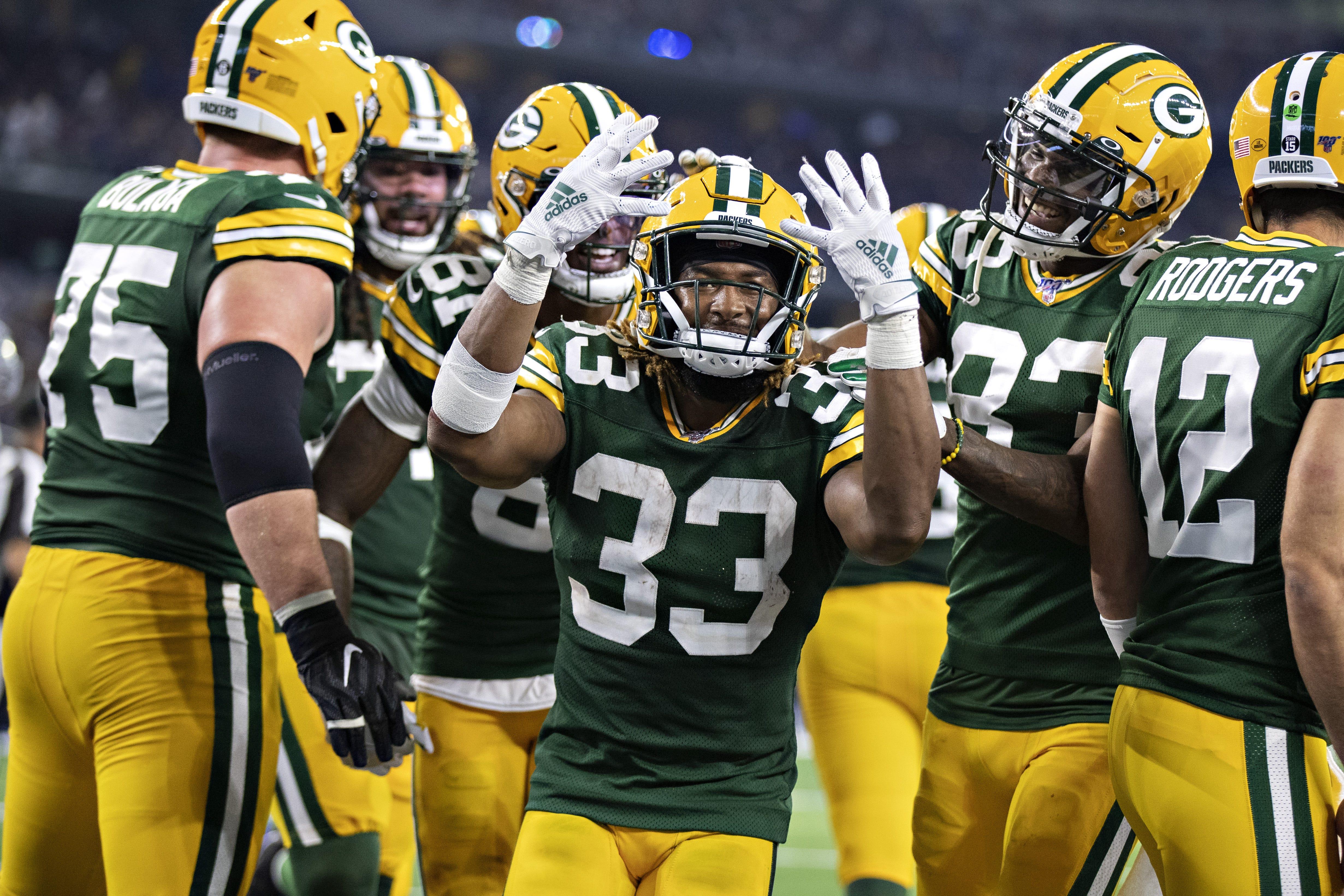 Green Bay Packers Aaron Jones Putting His Trust In The Process