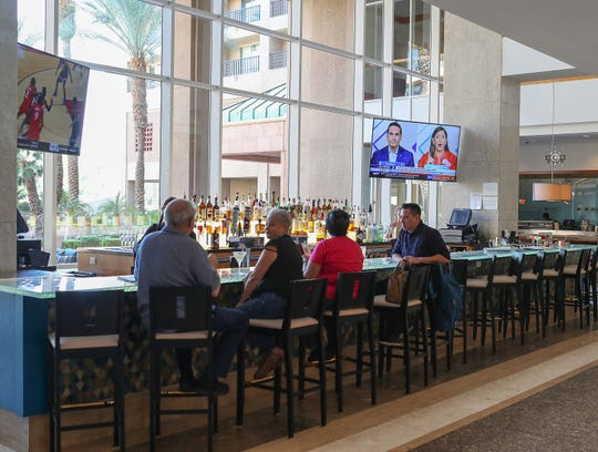 The Place is a new bar and part of the remodel at the Renaissance Esmeralda Resort & Spa in Indian Wells, Calif., September 27, 2019.