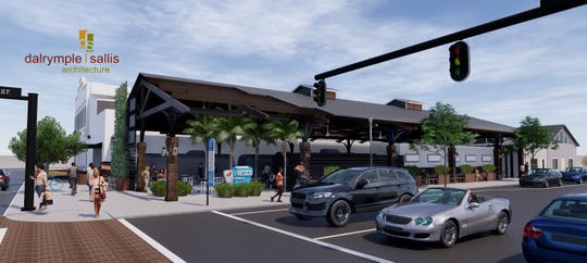 The new Al Fresco Market, which should begin being constructed before December, will include a large overhead structure, five new kiosks, a new bar and a new restaurant.