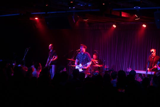 The house was packed from wall to wall for Jimmy Eat World at Crescent Ballroom on Sunday, Oct. 6, in Phoenix.
