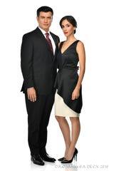Paulina adopta la identidad de su hermana Paola, como esposa del Primer Mandatario, Carlos Bernal (Andrés Palacios), quien se enamora de ella.