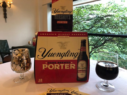 Scenes from the launch of Yuengling Hershey's Chocolate Porter at The Hotel Hershey in October.