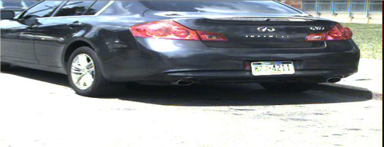 "Furlow may possibly be driving a ""gray 2011 Infiniti G37 bearing PA registration KZJ4211."""