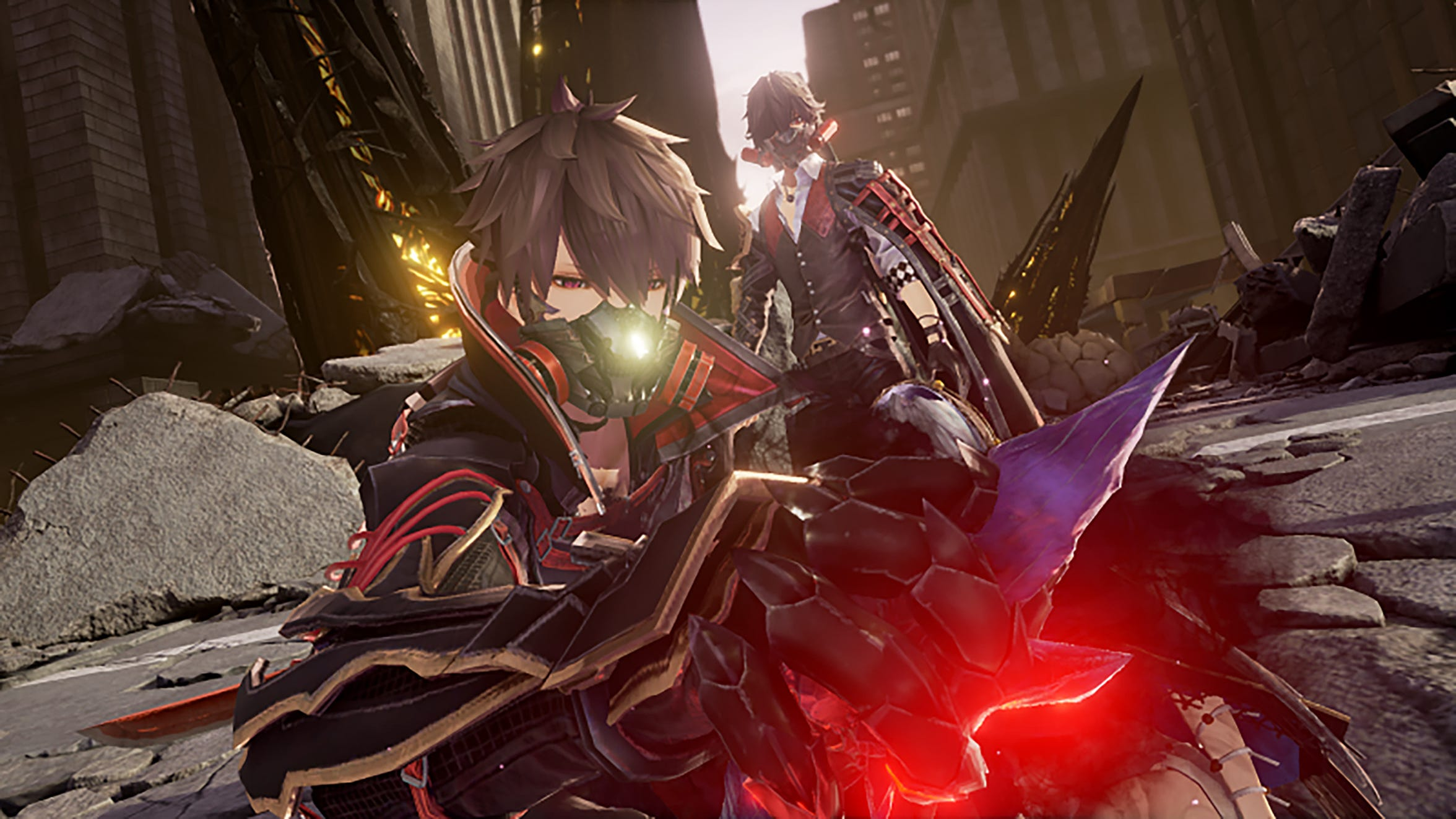 Code Vein for PC, PS4 and Xbox One.
