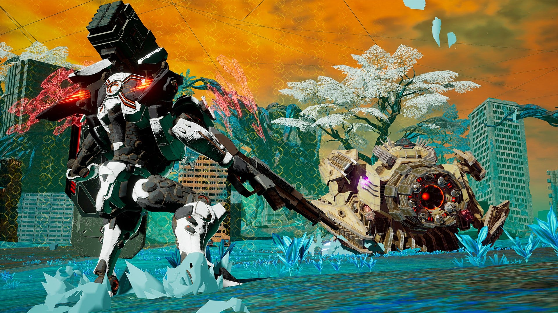 Daemon X Machina Review Armored To The Core Technobubble