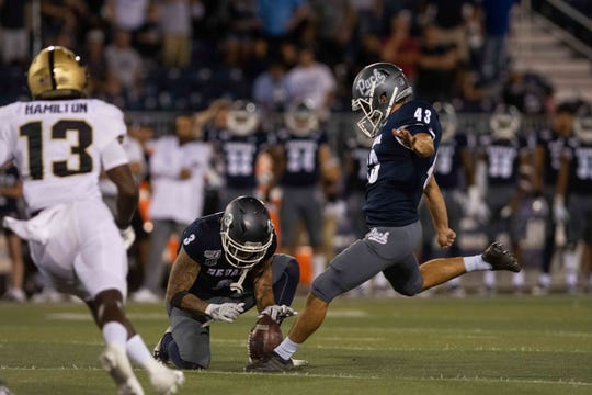 Nevada hosts San Jose State at 1 p.m. Saturday.