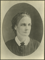 Mary F. Thomas became a member of the Wayne County Medical Society in 1875 after having been rejected twice because she was a woman. In 1876 she became the first member of the State Medical College. In 1877 as a delegate from the State Medical Society, she was admitted as the second female member of the American Medical Association.