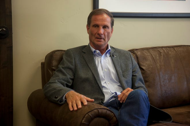 Utah Rep. Chris Stewart speaks with The Spectrum about recent political news Monday, Oct. 7, 2019.