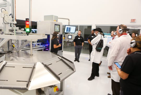Gx Glass Innovation and Technology Center on West Forest Grove Road in Vineland opened officially on Sept. 25, 2019. The facility was thrown open to customers.