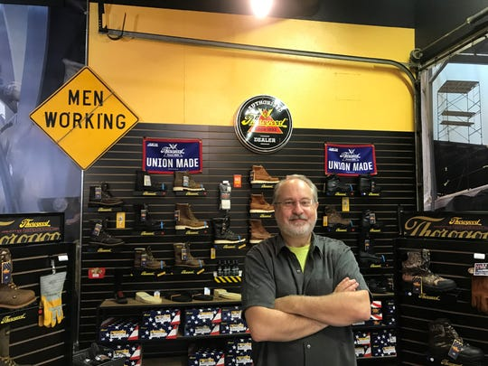 Walter Brown, owner of The Boot Pros, opened a brick-and-mortar storefront in Wausau for the Thorogood brand of work boots after over a decade of running an online shop.