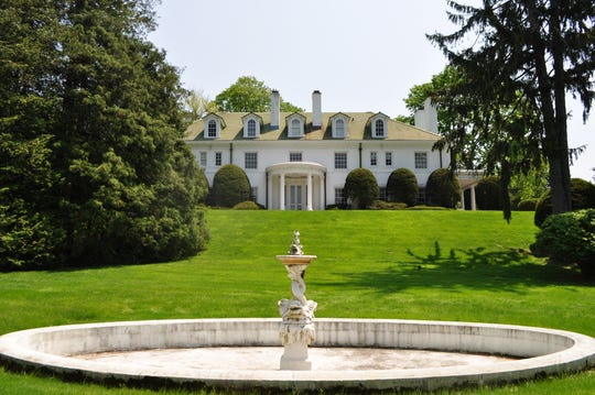 2A Cooper, a gracious 10 bedroom colonial in Scarsdale's Murray Hill, is back on the market.