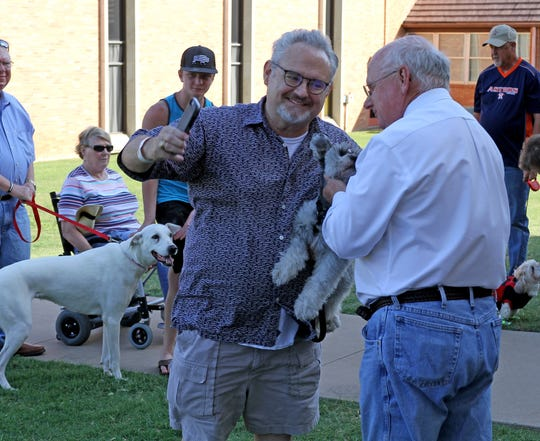 University United Methodist Church held a Blessing of the Animals event Sunday, Oct. 7, 2019, in honor of St. Francis, the patron saint of animals.