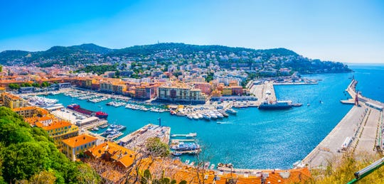 Nice, France, will soon have a tramline connecting the city center right to its cruise port.