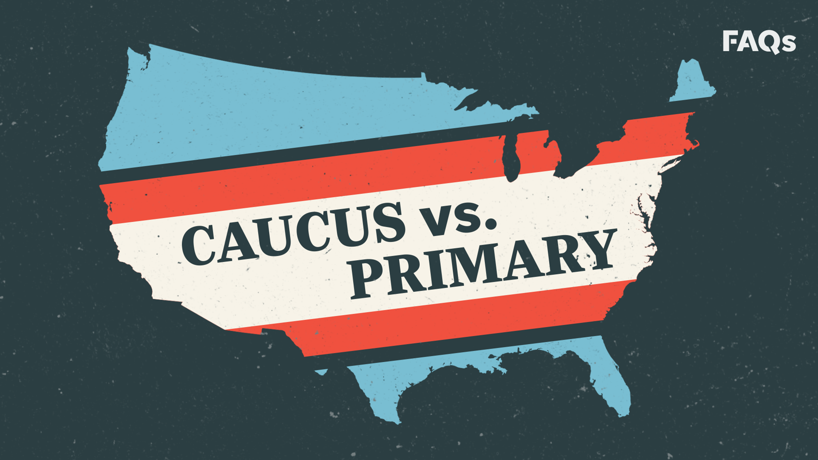 Difference between caucus and primary, explained