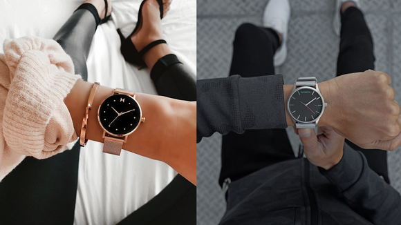MVMT makes men's and women's watches in all different styles.