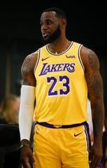 Los Angeles Lakers forward LeBron James is a lifetime ambassador for Nike, which does billions of dollars in business in China.