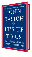 New book by former Ohio Gov. John Kasich coming Oct. 15, 2019.