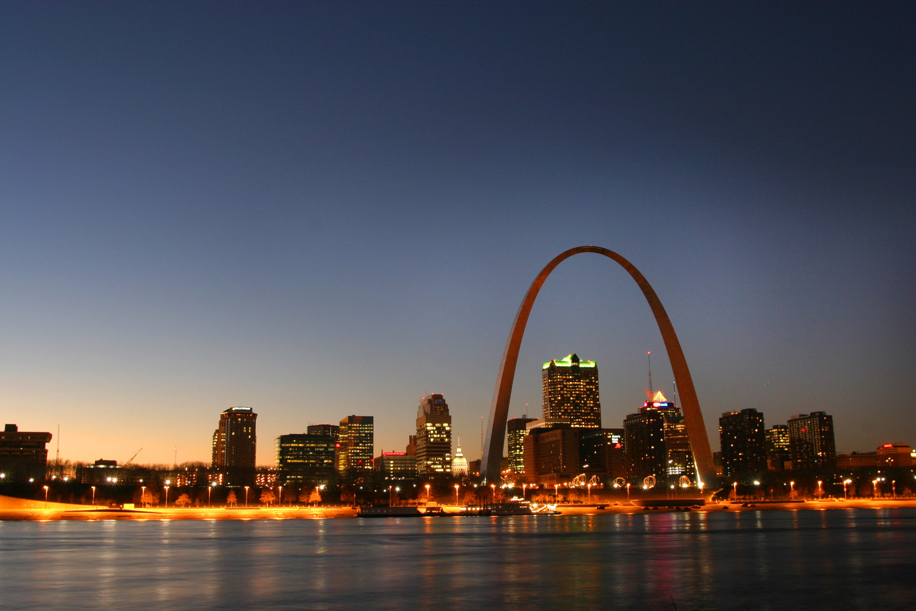 Gateway Arch National Park is an icon on the St. Louis skyline.
