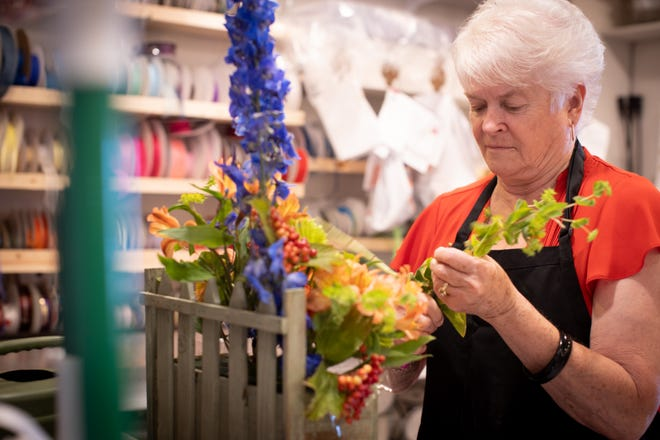 Baronelle Stutzman of Arlene's Flowers in Richland, Washington, in July 2019.