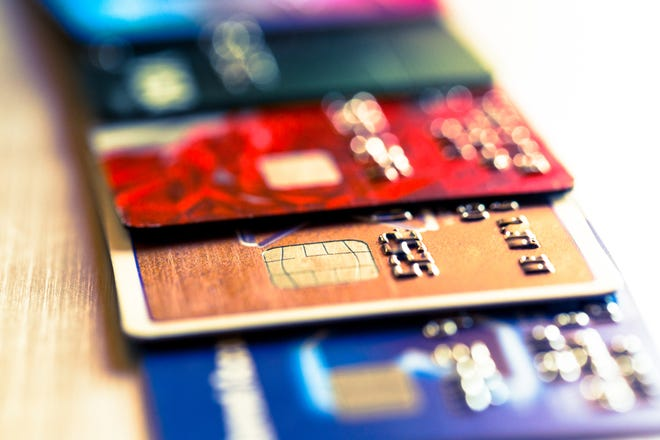 Credit card debt can add up quickly.