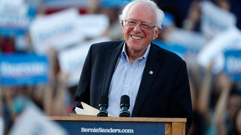 Bernie Sanders lashes out at Donald Trump on policies