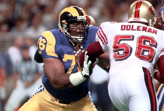 Orlando Pace played in seven Pro Bowls and was inducted into the Pro Football Hall of Fame.