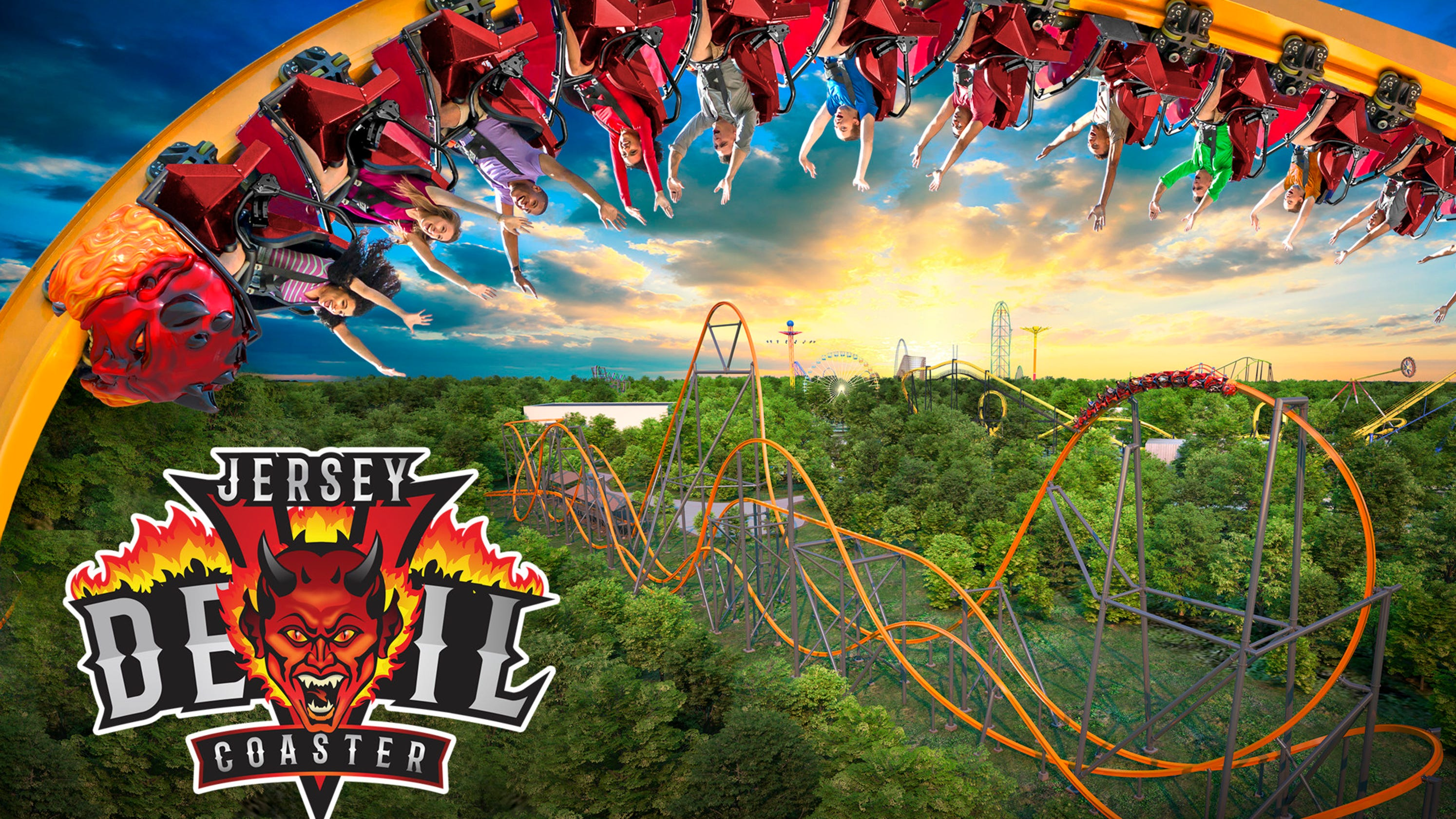 Six Flags 2020 preview: New Jersey's Devil coaster, Texas' Aquaman set to make a splash