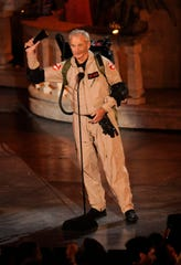 """Bill Murray shows off the """"Ghostbusters"""" outfit he rocked in """"Zombieland"""" before his own tragic end."""