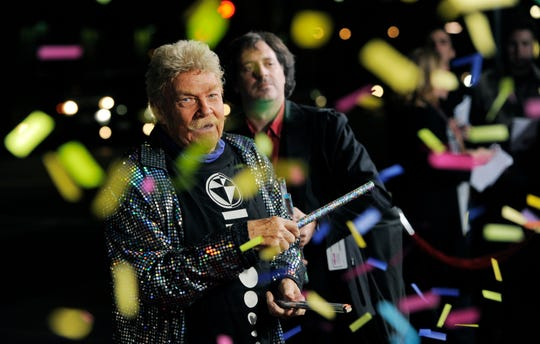 "Rip Taylor described himself as the ""King of Confetti."" The exuberant comedian died Oct. 6 at age 88."