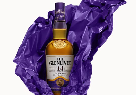 The Glenlivet has a special cocktails packaged in capsules for London Cocktail Week.