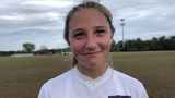 Rumson-Fair Haven sophomore Samantha Cesario got behind the defense and scored the game-winning goal in a 1-0 win over Colts Neck on Oct. 7, 2019.