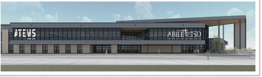 An artist rendition of The LIFT Center, what the new Career and Technical Education facility in the Abilene ISD will be called.