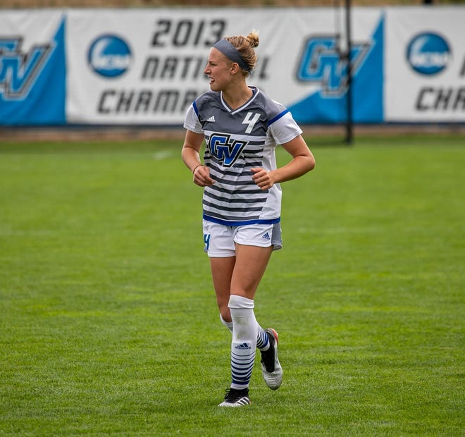 Former Lakeview High School standout Ava Cook is the leading scorer for Grand Valley State University women's soccer.