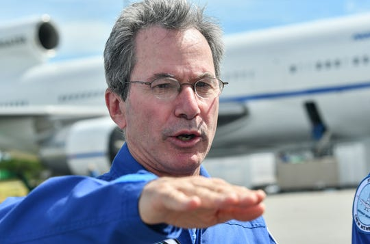 Don Walter, pilot of Northrop Grumman's Stargazer L-1011 aircraft talks about tomorrow's air launch of NASA's ICON (Ionospheric Connection Explorer) satellite aboard a Pegasus XL rocket.