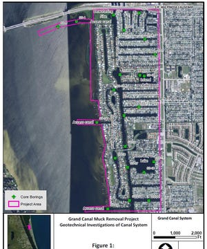 Brevard County plans soon to embark on a multi-million dollar muck dredging project in Grand Canal and the residential canals that surround, just south of Patrick Air Force Base. But some residents fear what old military waste might be in the muck.