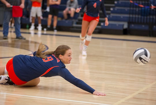 Kate Schieber was a defensive star on a loaded Galion team.