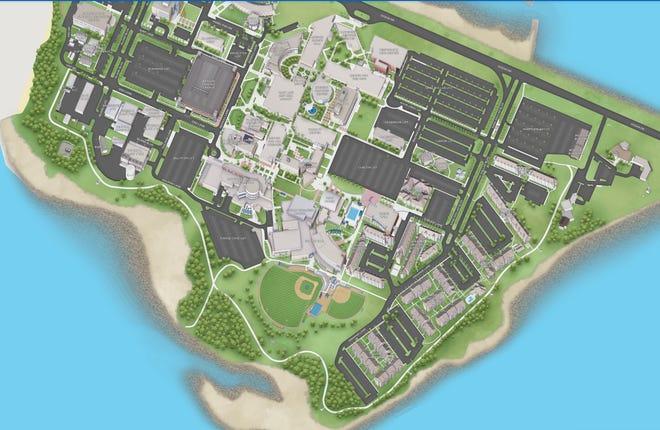 Texas A&M University Corpus Christi map