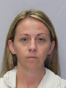 Amber Guyger, 31, was taken to the Mountain View Unit, a maximum-security women's prison in Gatesville, Texas, after her trial last week in Dallas.
