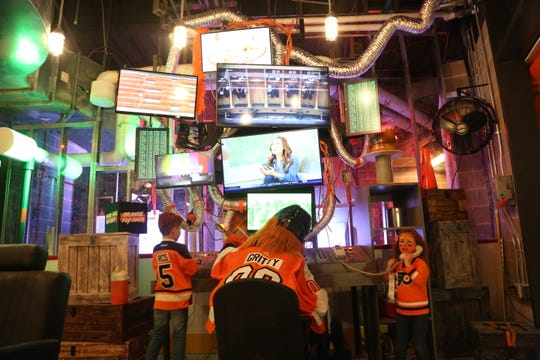 Fans can get the full Gritty experience inside the mascot's new C.O.M.M.A.N.D. Center.