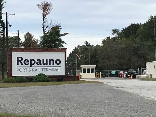 A coalition of environmental groups is fighting plans to ship LNG (liquefied natural gas) from Repauno Port & Rail Terminal on the Delaware River in Greenwich Township. Formerly owned by DuPont Company, the site is now under development by New Fortress Energy and Delaware River Partners as a rail terminal and deep-water port.
