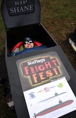 Shane Madak of Groton, Conn. was one of six finalists for the Six Flags 30-hour coffin challenge last year. He is active duty US Navy and serves aboard the USS Bremerton attack submarine.