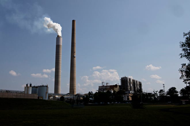 A view of Kyger Creek Power Plant near Gallipolis, Ohio, on Friday, Sept. 13, 2019.