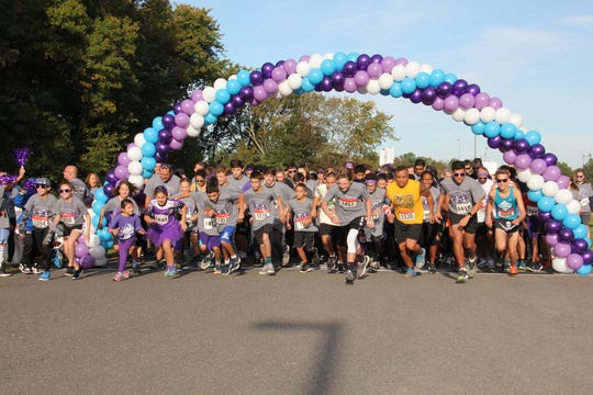"Purple for Pappas 5K,"" will be held at North Brunswick Community Park on Sunday, Oct. 20, beginning at 10 a.m."