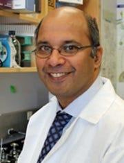 Dr. Shridar Ganesan, associate director for translational science, section chief of molecular oncology.