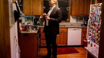 U.S. Sen. Cory Booker, D-NJ., talks about staying with Iowans while on the campaign trail.