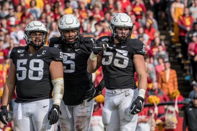 Iowa State defensive end Zach Petersen made the most of his first start against Texas Christian.