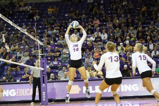 UNI senior setter Rachel Koop was named player of the week by the Missouri Valley Conference.