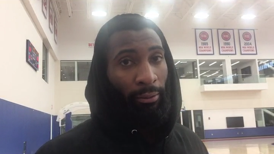 Detroit Pistons' Andre Drummond: 'No player should feel like they're not a max player'
